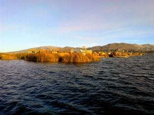 Ilhas flutuante de Uros